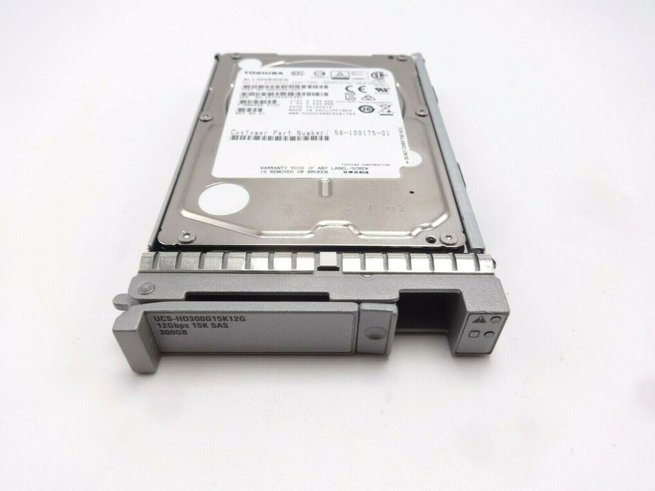 Cisco UCS-HD300G15K12G 300GB 15K 12Gbps 2.5 SFF Small Form Hard Drive with tray