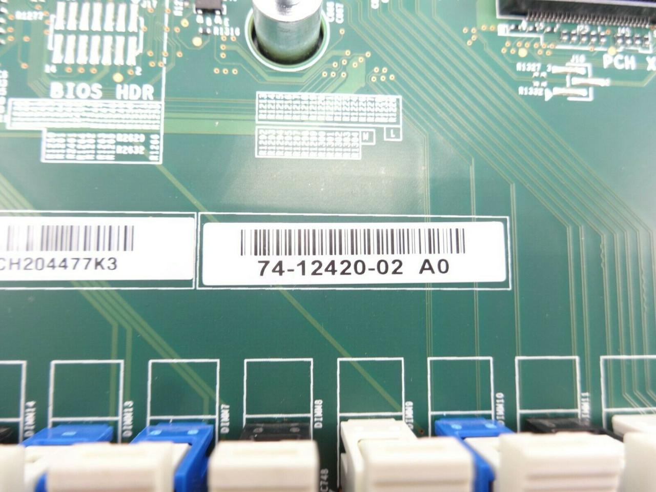 Cisco 74-12420-02 UCSC-C240-M4S System Board C240 M4
