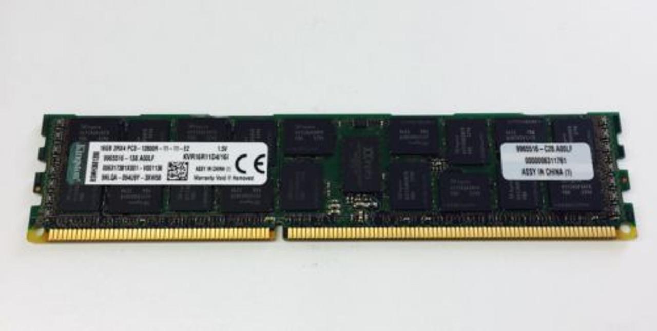 KINGSTON KVR16R11D4/16I KINGSTON 16GB 2RX4 PC3 12800R