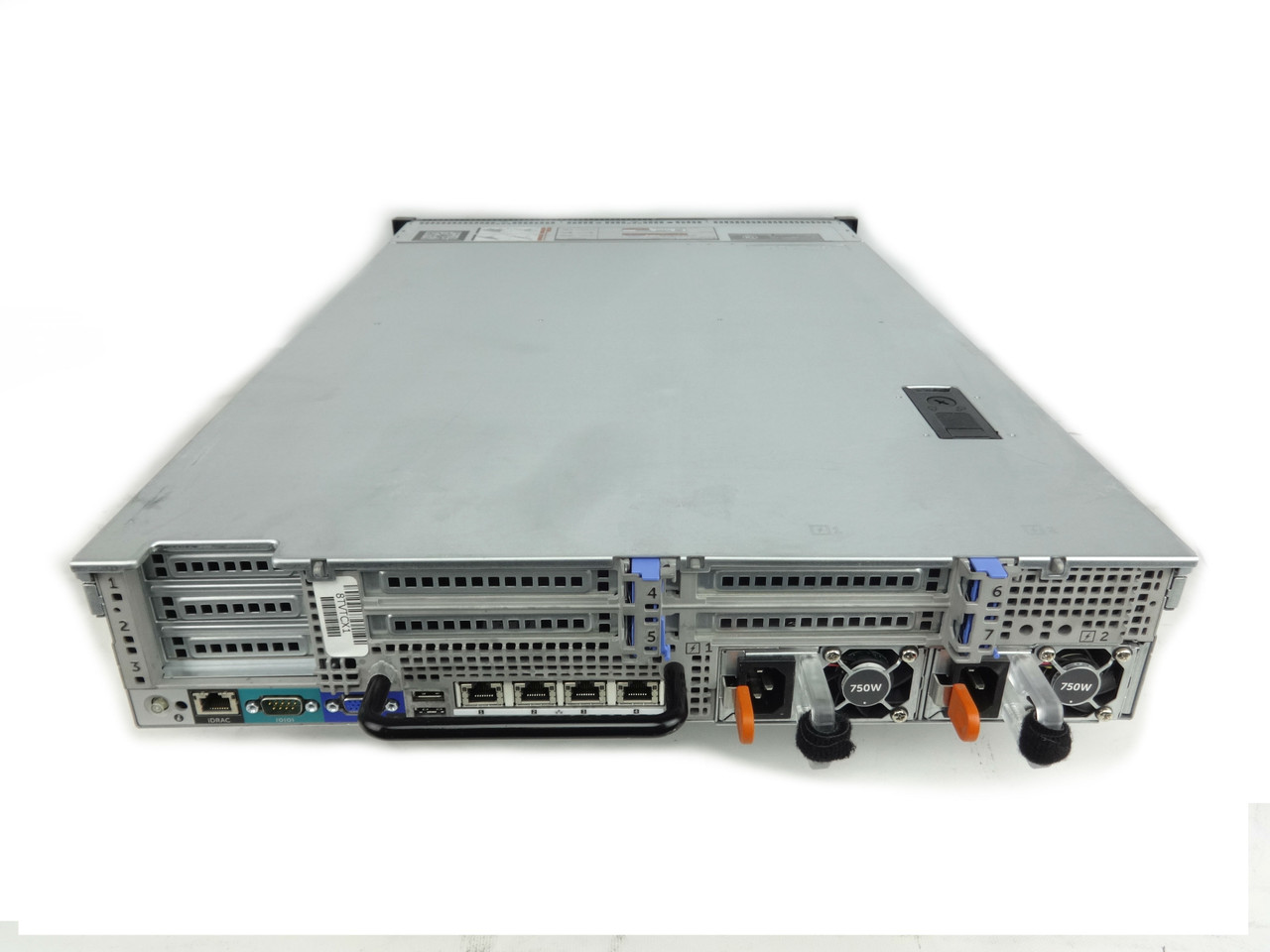 Dell R720 Back of Server