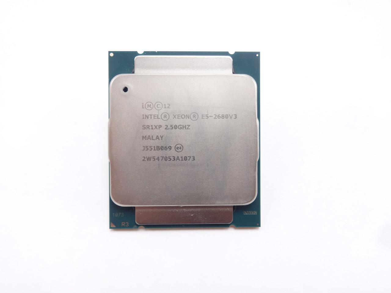 Intel SR1XP E5-2680 V3 12Core 2.53GHz/30MB Processor