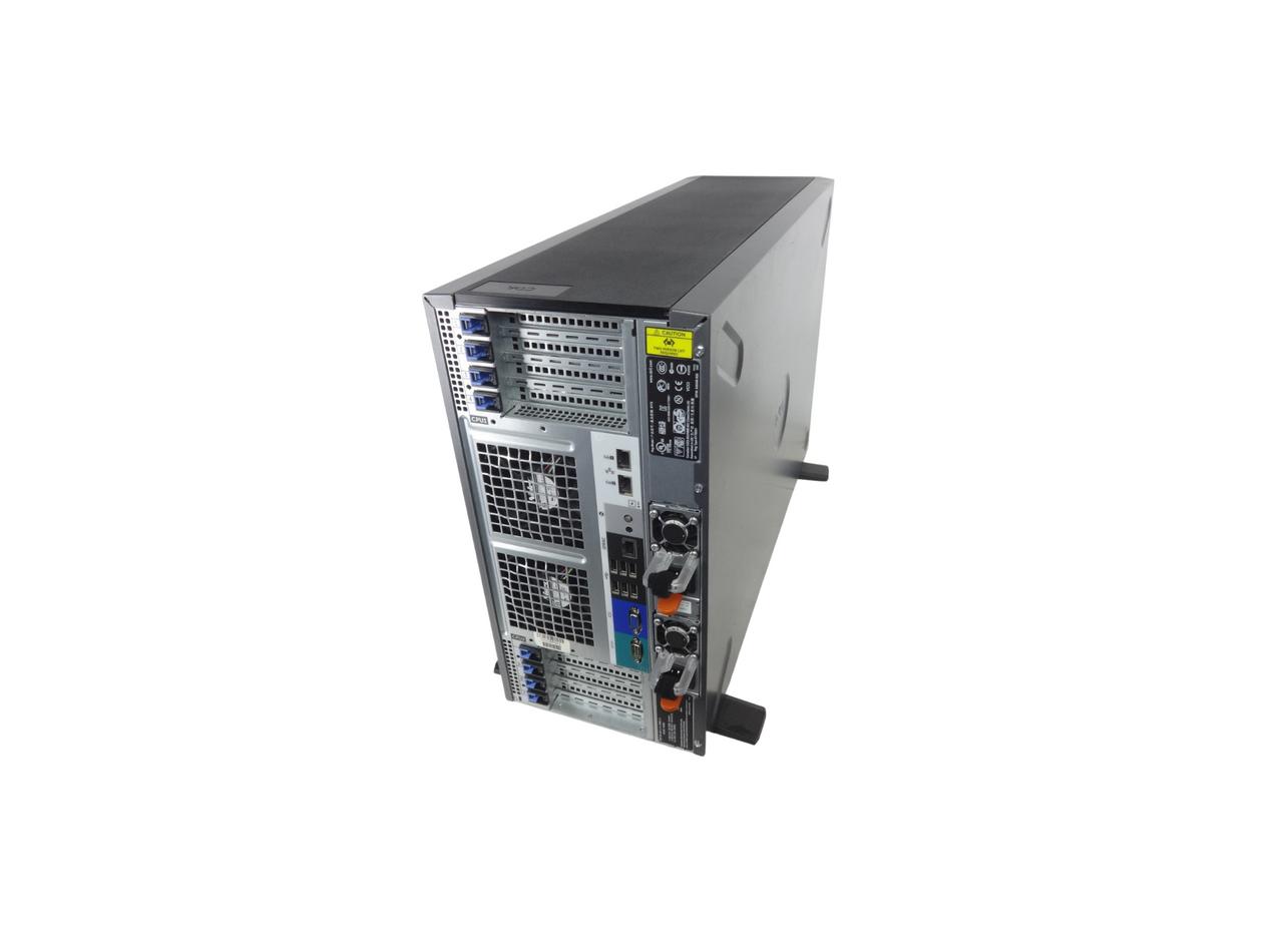 Back of Dell Poweredge T620 Server