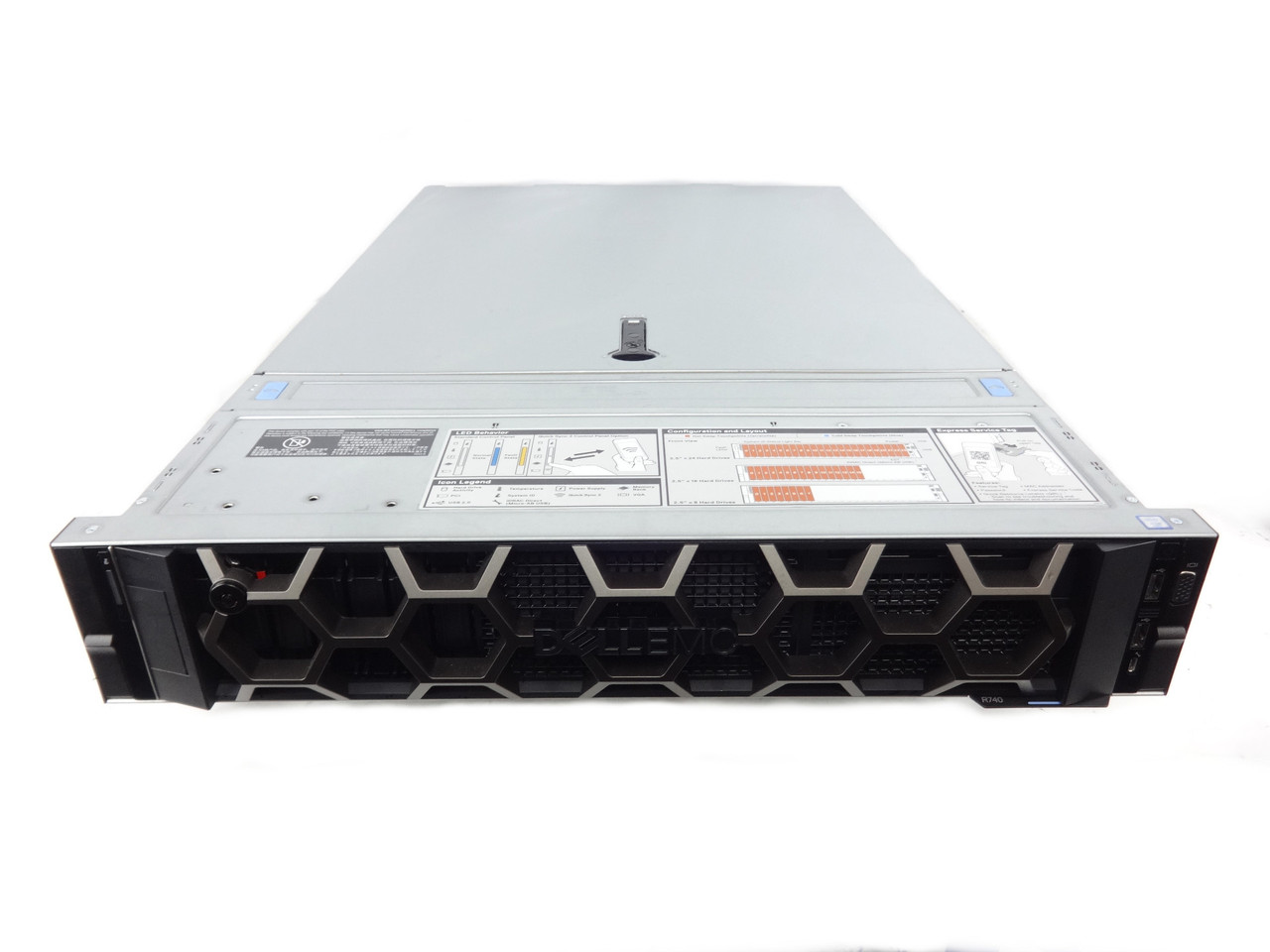 Dell Poweredge R740 8 bay Server with bezel