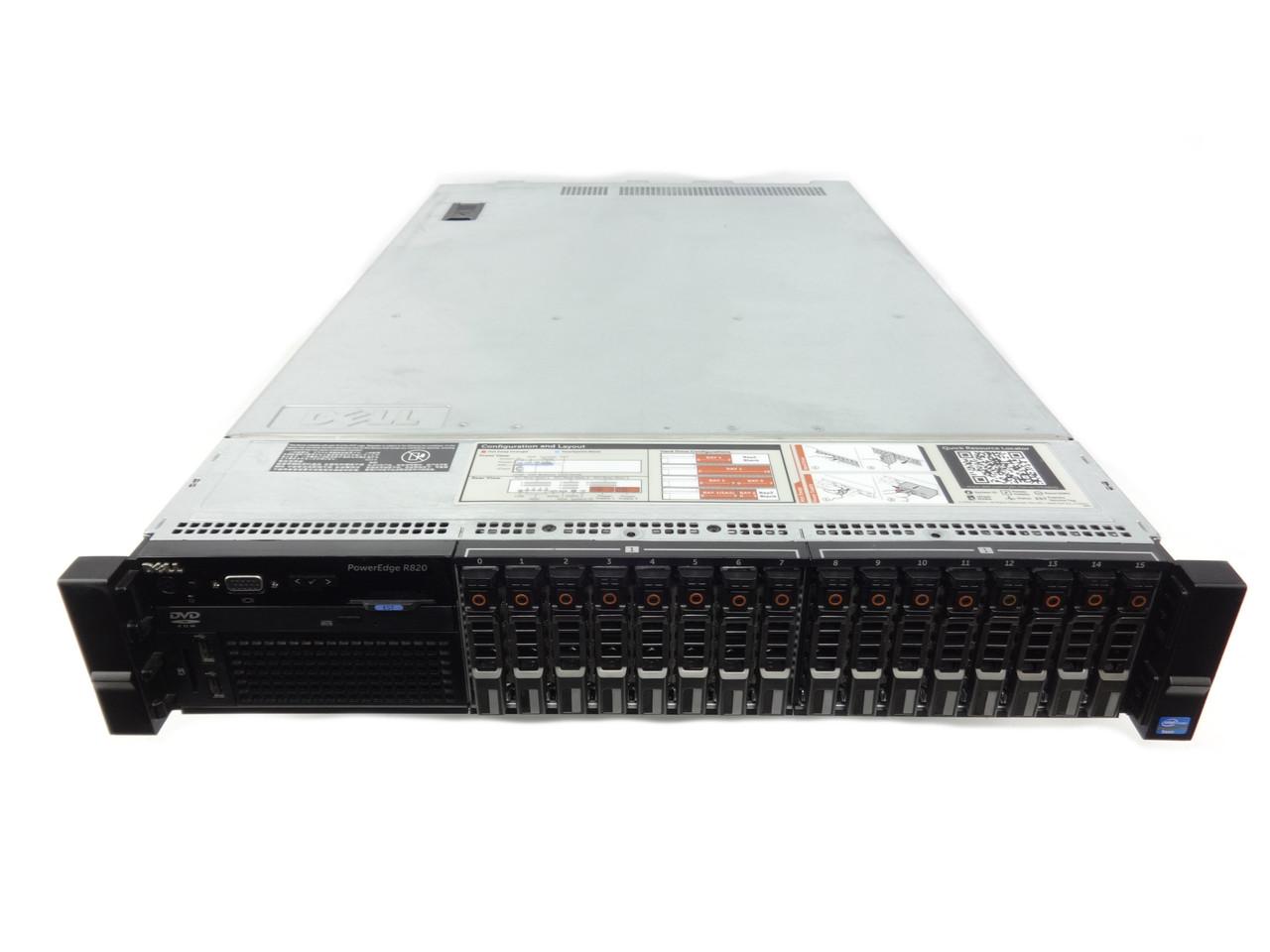 Refurbished Dell Poweredge 16 Bay Server