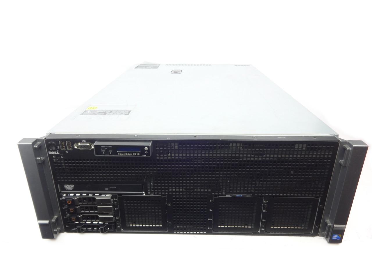 Dell Poweredge R910 4 Bay Server