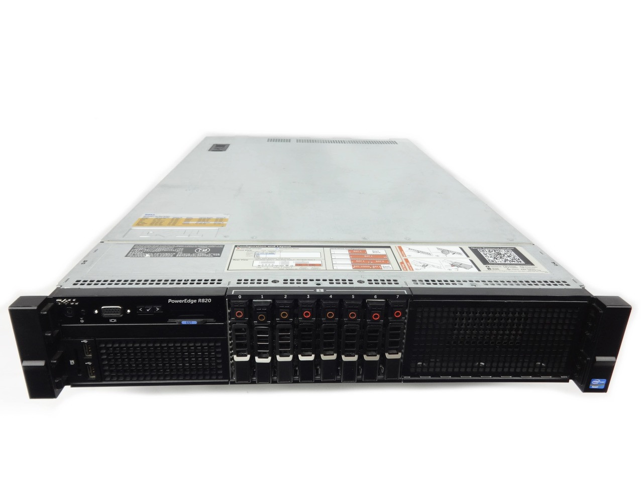 Cables New Dell PowerEdge R830 Barebones Server Chassis With Fans