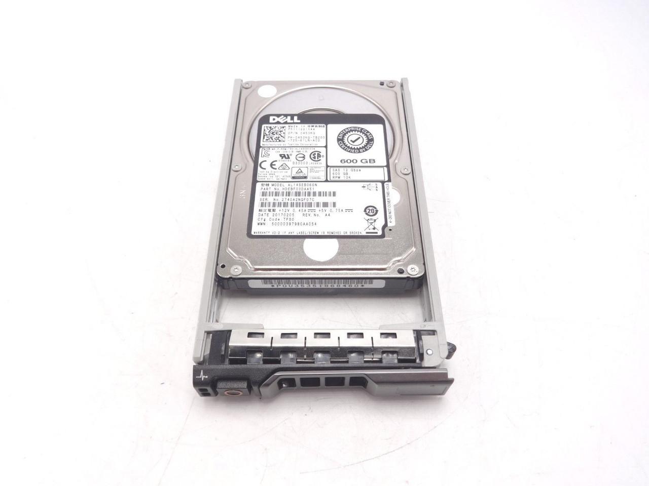 Dell 453KG 600GB 10K 12GBPS 2.5 Hard Drive