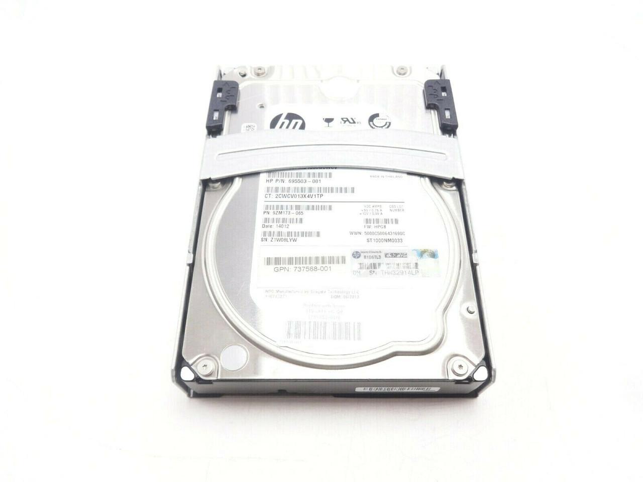 HP 731053-001 1TB SATA 7.2K Hard Drive