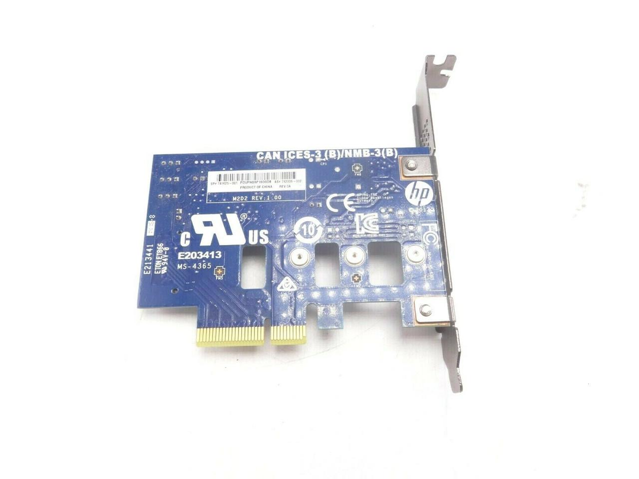 HP 741625-001 PCI-E to M.2 Adapter