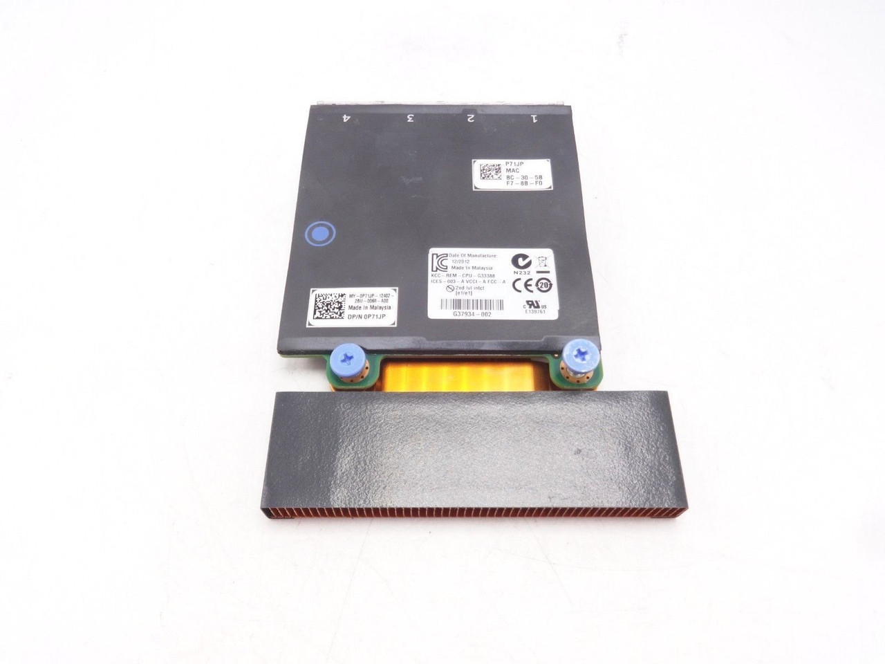 Dell P71JP Intel X540 Quad Port 2x10G I350 2x1G Network Daughter Card