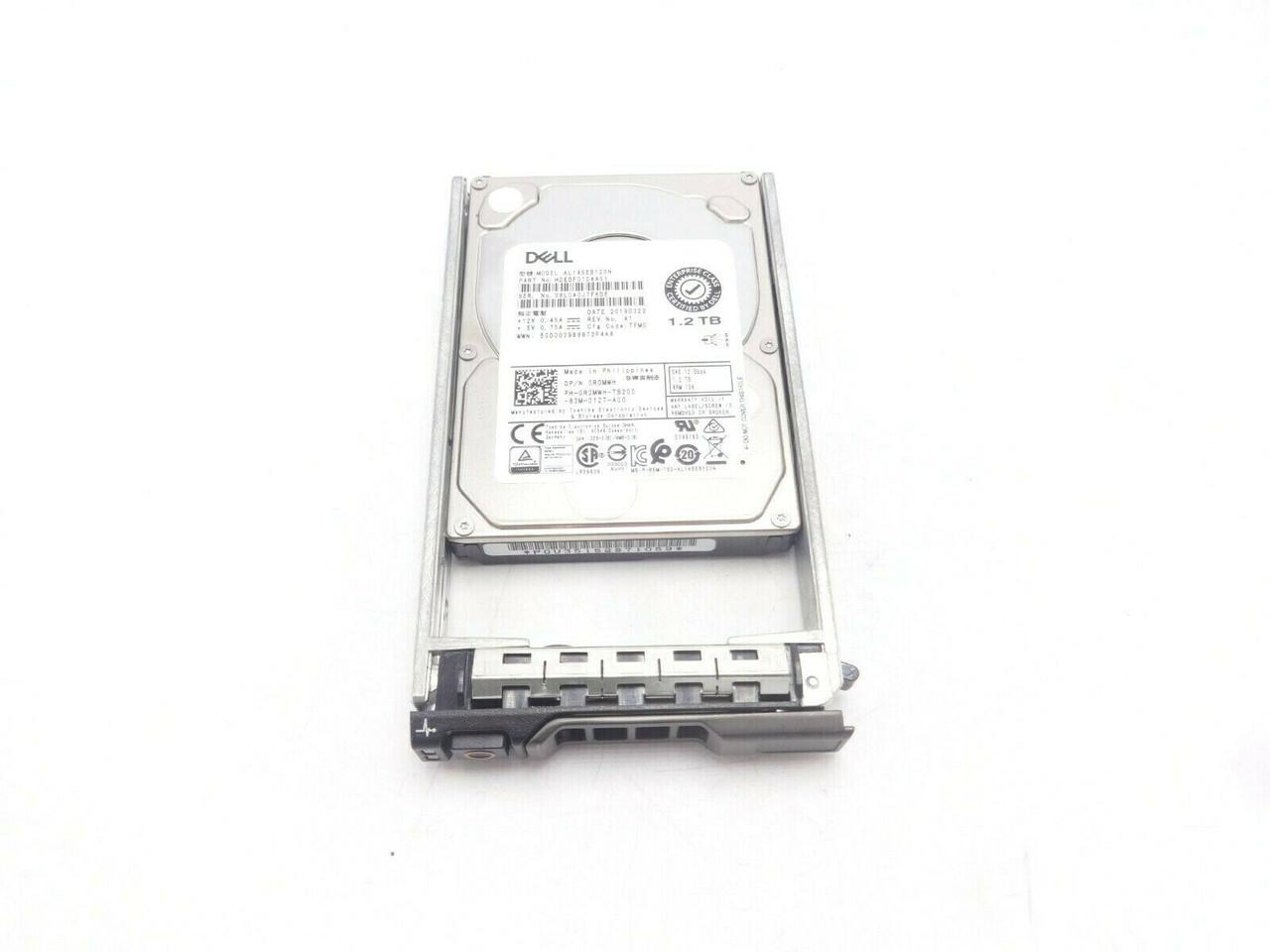 Dell R0MWH 1.2TB SAS 10K 2.5 512n 12GBPS HDD