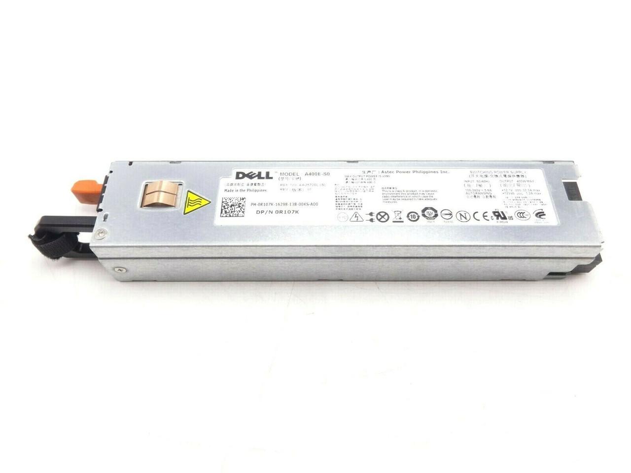 Dell R107K Poweredge R310 400Watt Power Supply