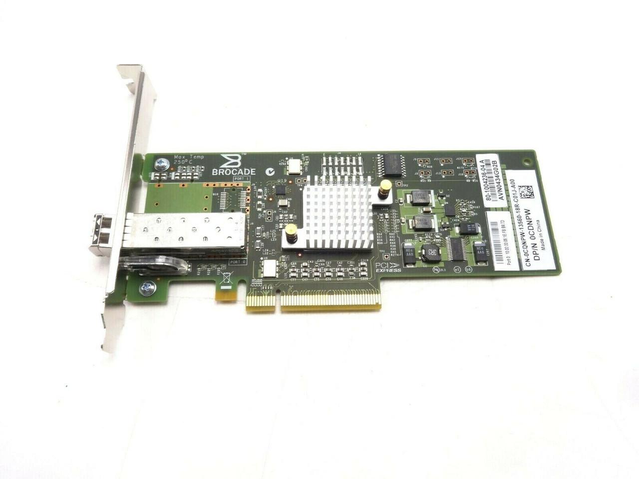 Dell CDNPW Brocade 815 8GB Single Port HBA Fibre Channel Card