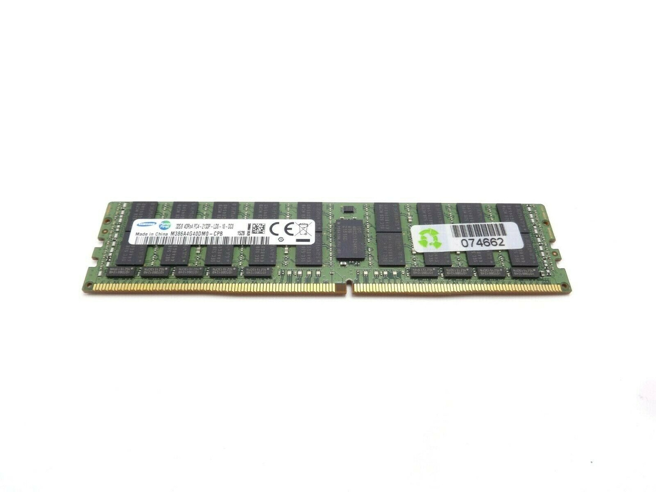Samsung M386A4G40DM0-CPB 32GB DDR4 4Rx4 PC4 1700P Server Memory