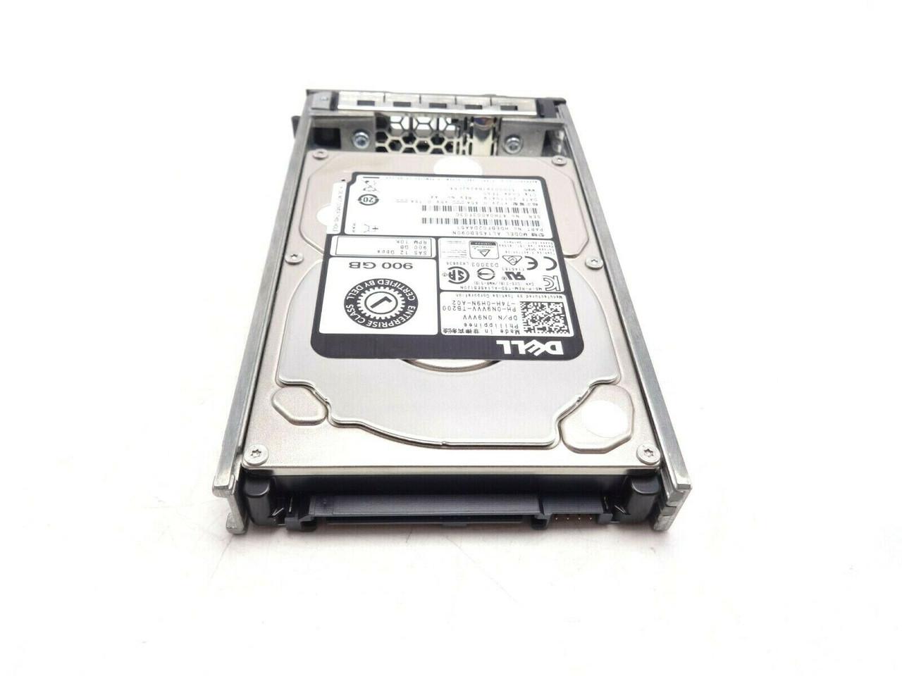 Dell N9VVV 900GB SAS 10k 12GBPS 2.5 Hard Drive