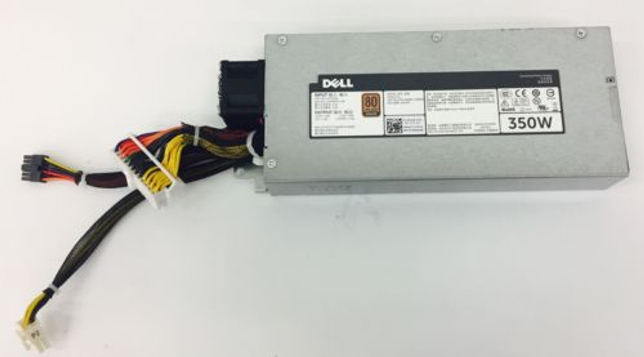 Dell NWX4R Poweredge R320 350W cabled power supply