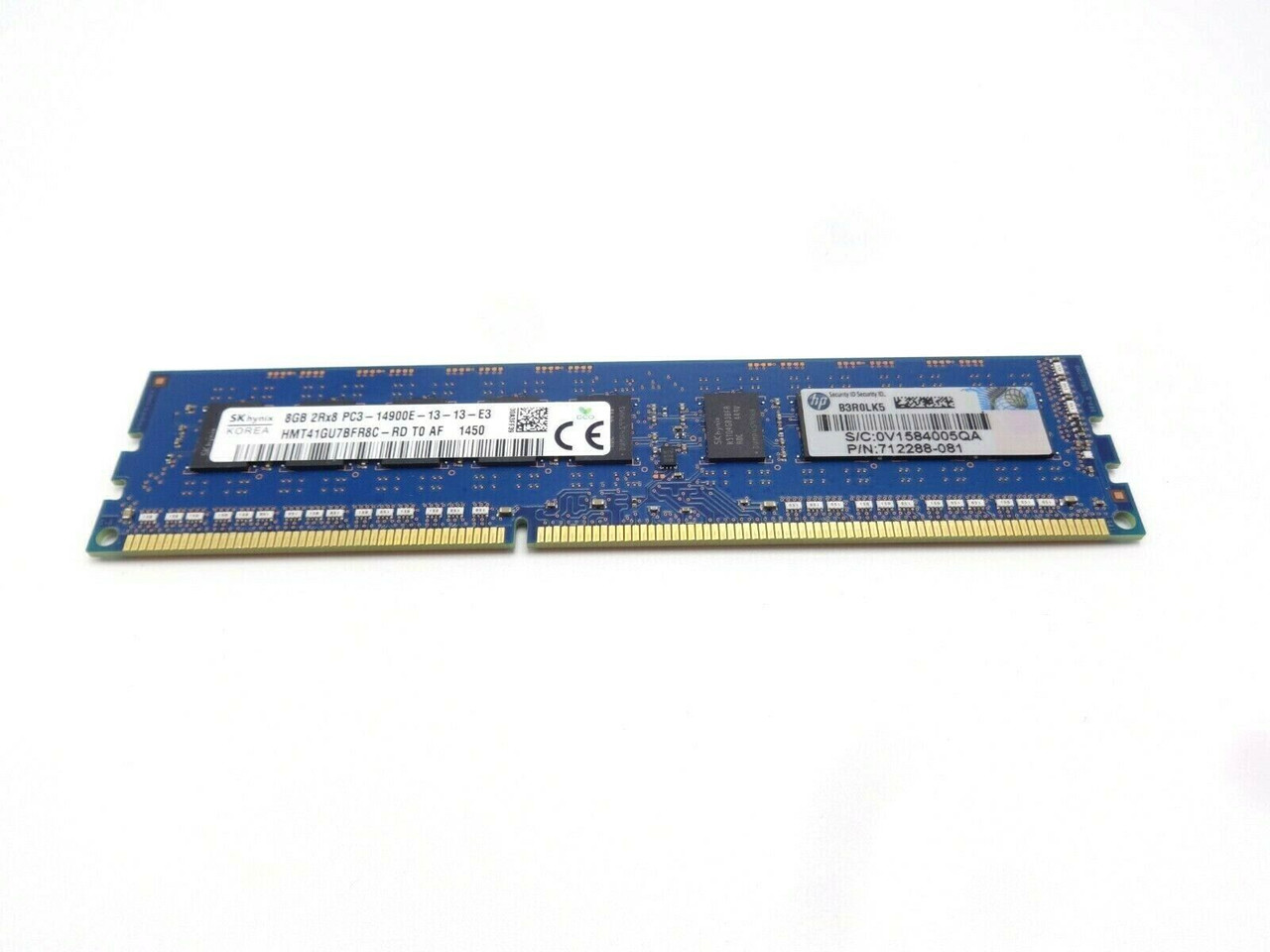 HP HPE 708635-B21 8GB 2Rx8 14900E Server Memory Dimm