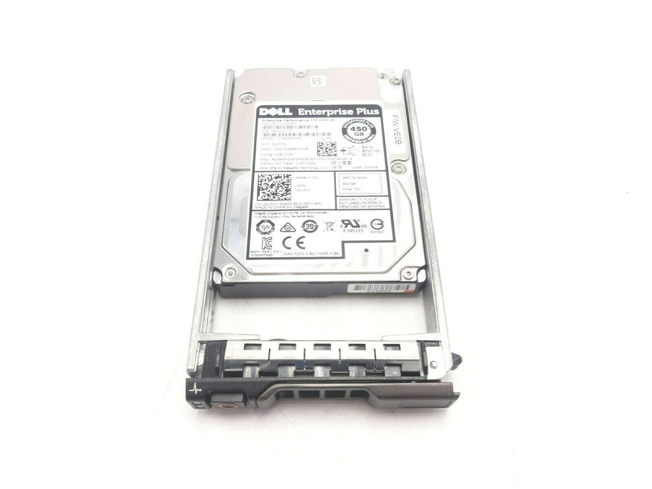 Dell KC5Y1 450GB 15K SAS 2.5 12GBPS Hard Drive ST450MP0005 0KCY1
