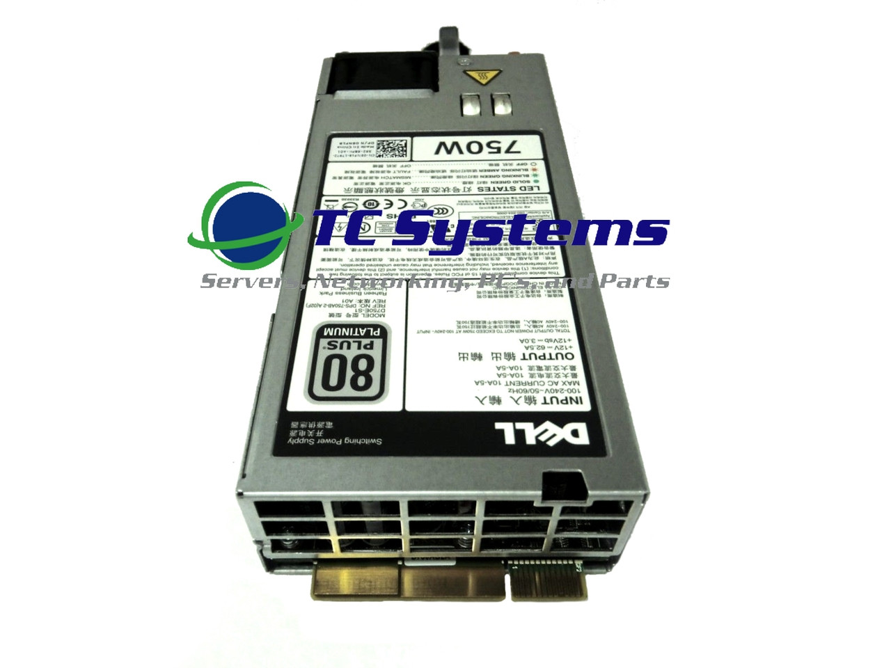 5NF18 05NF18 DELL POWEREDGE R820 R720 R620 R520 620 T420 T320 750W POWER SUPPLY