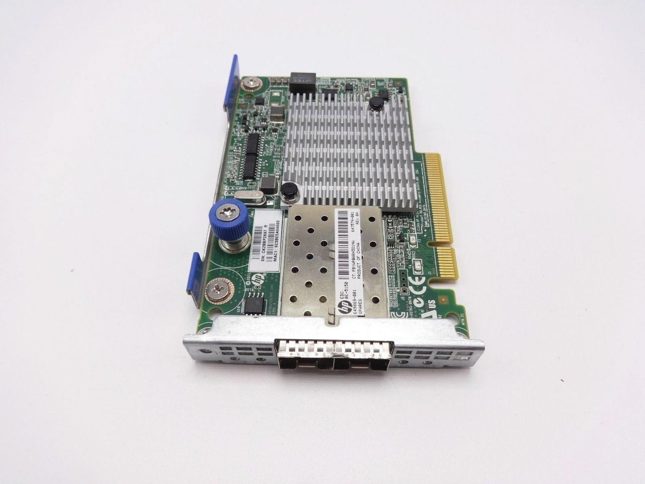 HP 649869-001 10GB 2-port 530FLR adapter