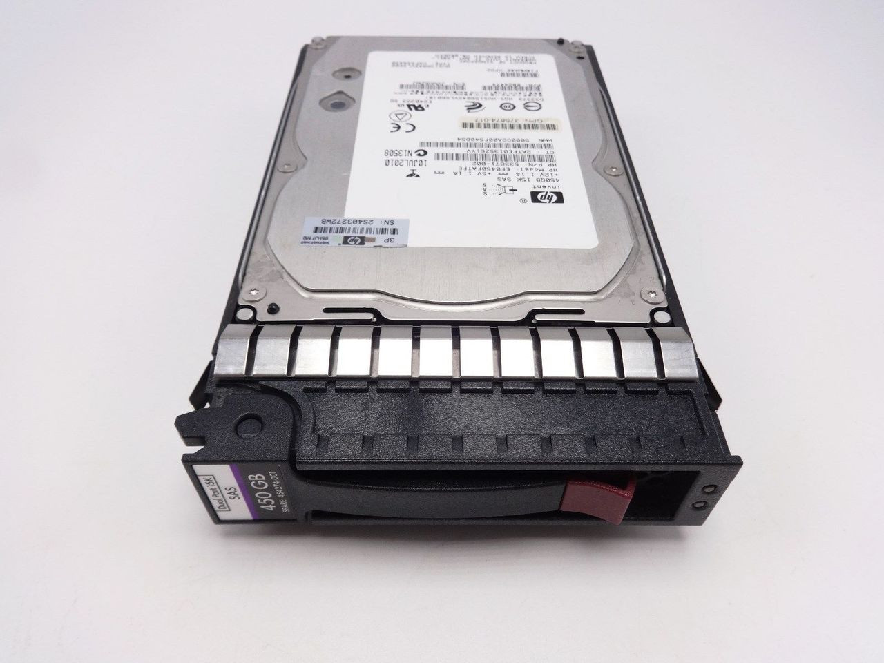 HP 454274-001 450GB 15K SAS 3.5 Hard Drive 454232-B21