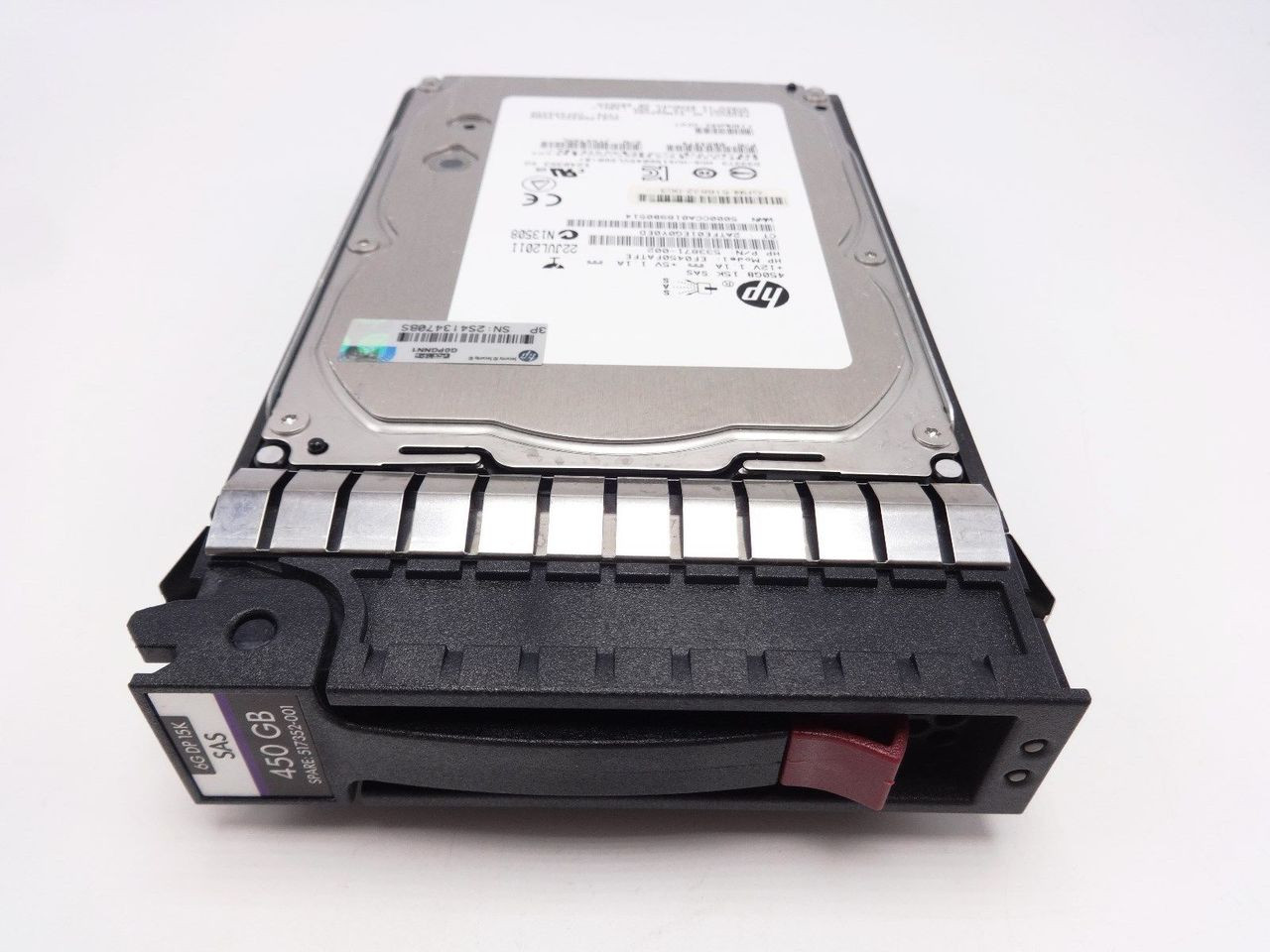 HP 517352-001 450GB 6G 15K 3.5 SAS Hard Drive