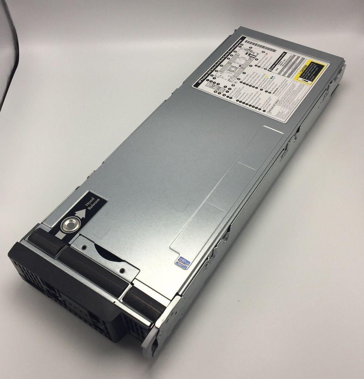 HP 724082-B21 BL460C G8 2x E5-2670v2 2.5GHZ 10C 64GB P220i/512 FBWC 534FLB