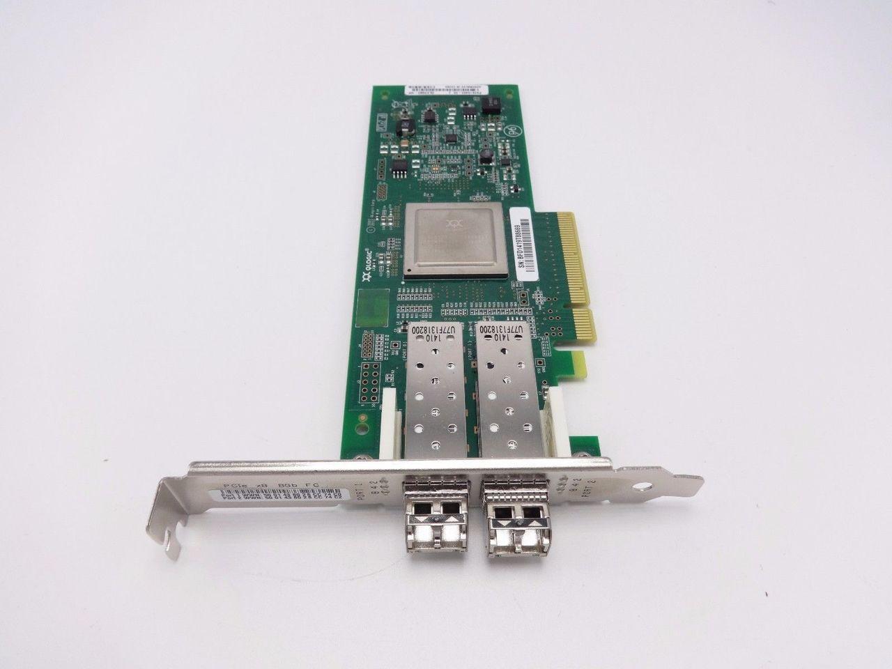 Hewlett Packard Enterprise 82Q 8Gb Dual Port PCIe FC HBARefurbished 584777-001-RFBRefurbished)