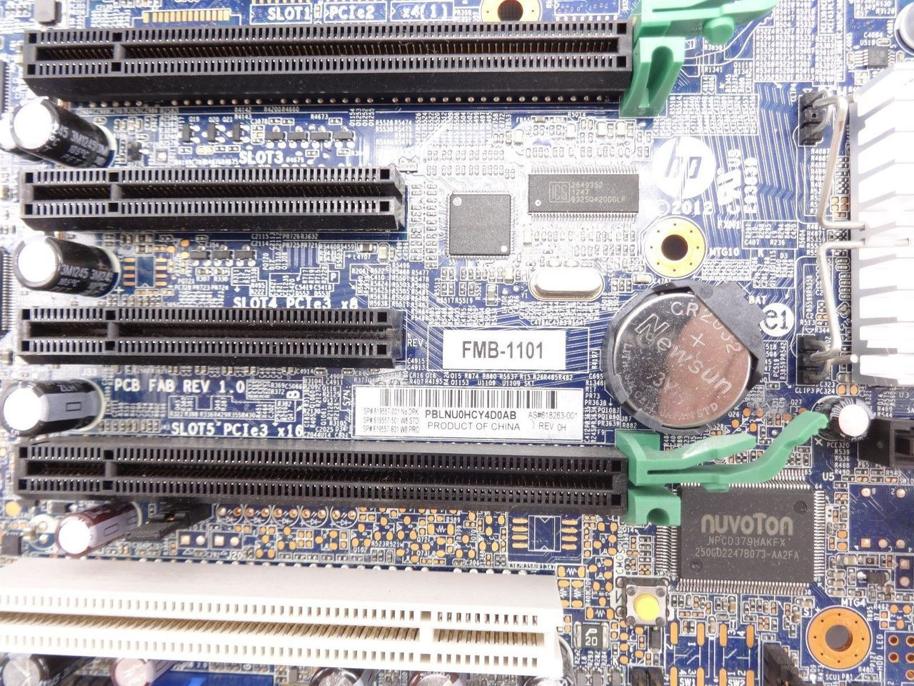 HP 619557-001 Z420 Workstation Minitower System Board
