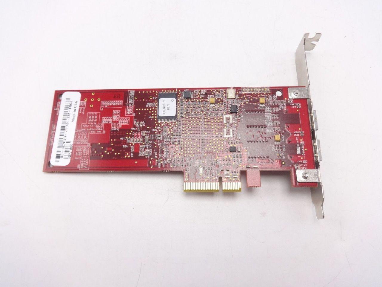 Dell C7PJG Fiber Virtex-5 PCI-E Dual Port XC5VLX50T