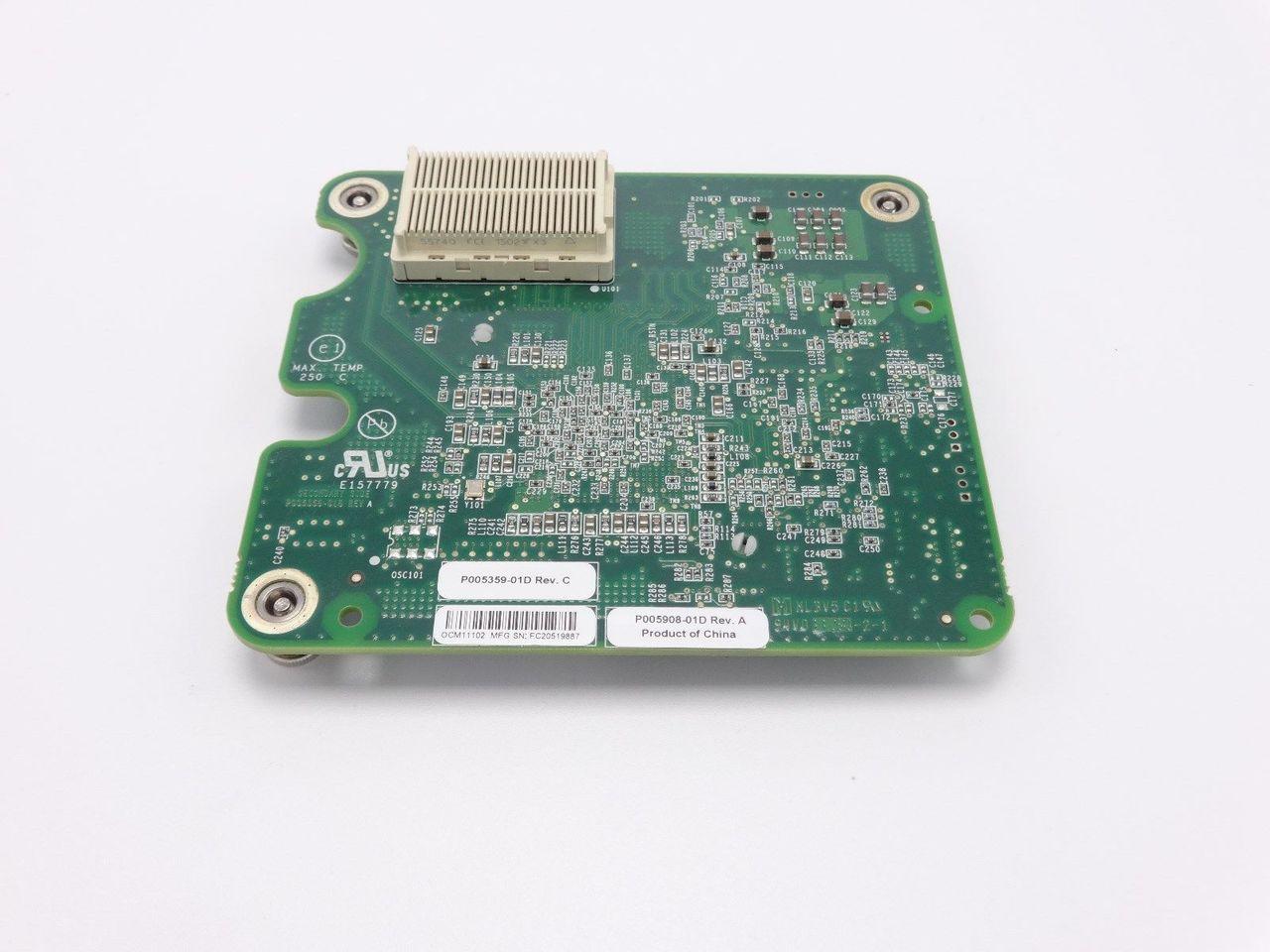 HP 610724-001 BLc NC522M FLES 10GBE DP CARD 610607-001