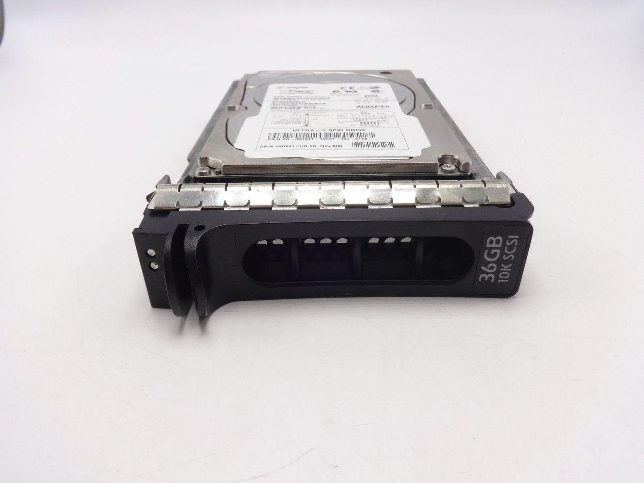 Dell 8G841 36Gb U160 10K 80 Pin 1 ST336605LC 9T5006-043 08G841