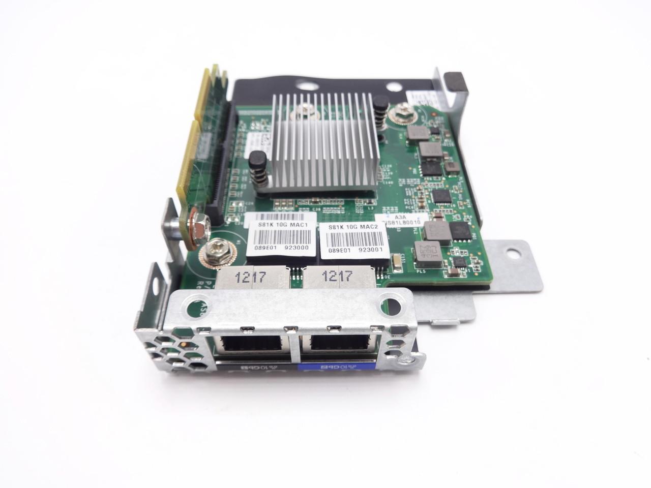 Dell PowerEdge C5220 NIC 2-Port 10Gbps RJ45 Embedded Mezzanine DRX73 80GPT