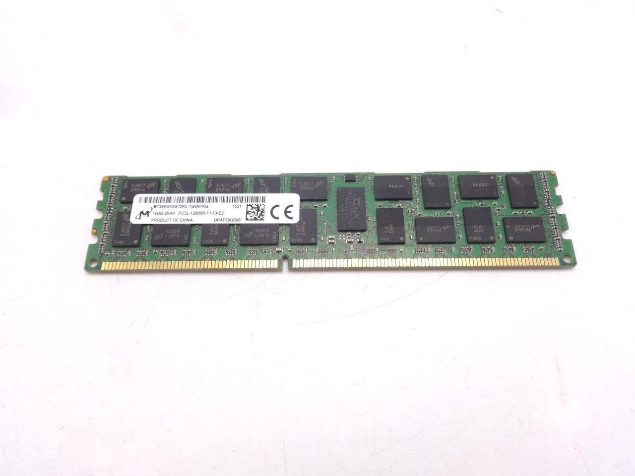 Micron MT36KSF2G72PZ-1G6N1 16GB PC3L 12800R 2Rx4 Memory Dimm