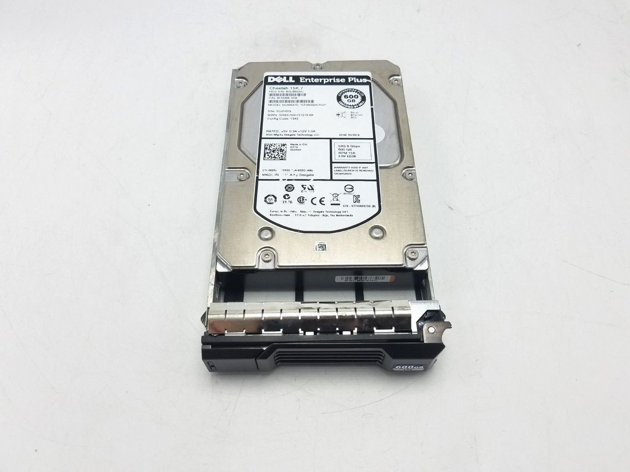 Dell 02R3X 600GB SAS 15K 3.5 6GBPS