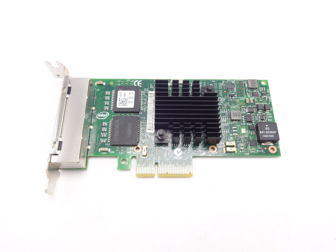 K9CR1 Dell Intel I350-T4 Quad Port PCI-E NIC Card