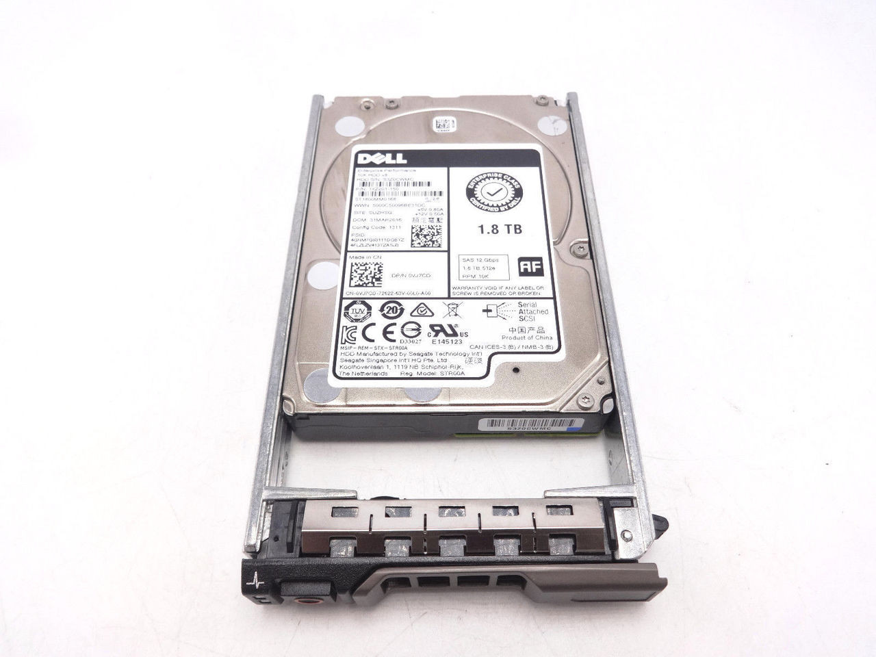 TVJ7CD Dell 1.8TB SAS 10K 2.5 Hard Drive