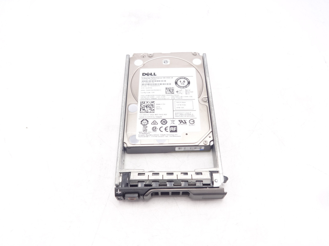 Dell 43N12 1.8TB 10K 6Gbps SAS 2.5 ST1800MM0018 1GR201-150