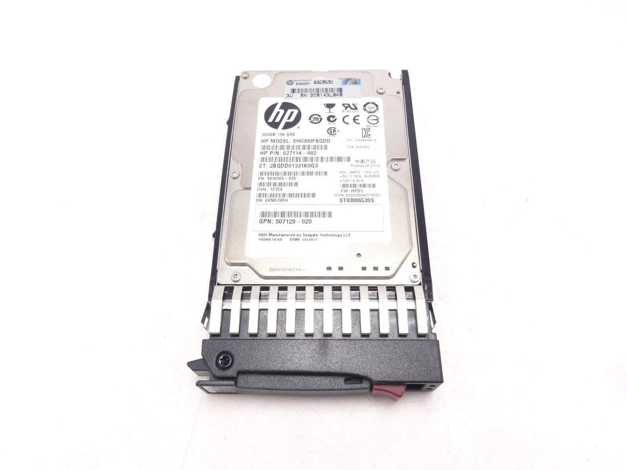 HP 627195-001 300GB 6G 15K DP 2.5 SAS Hard Drive 627117-B21 627114-002
