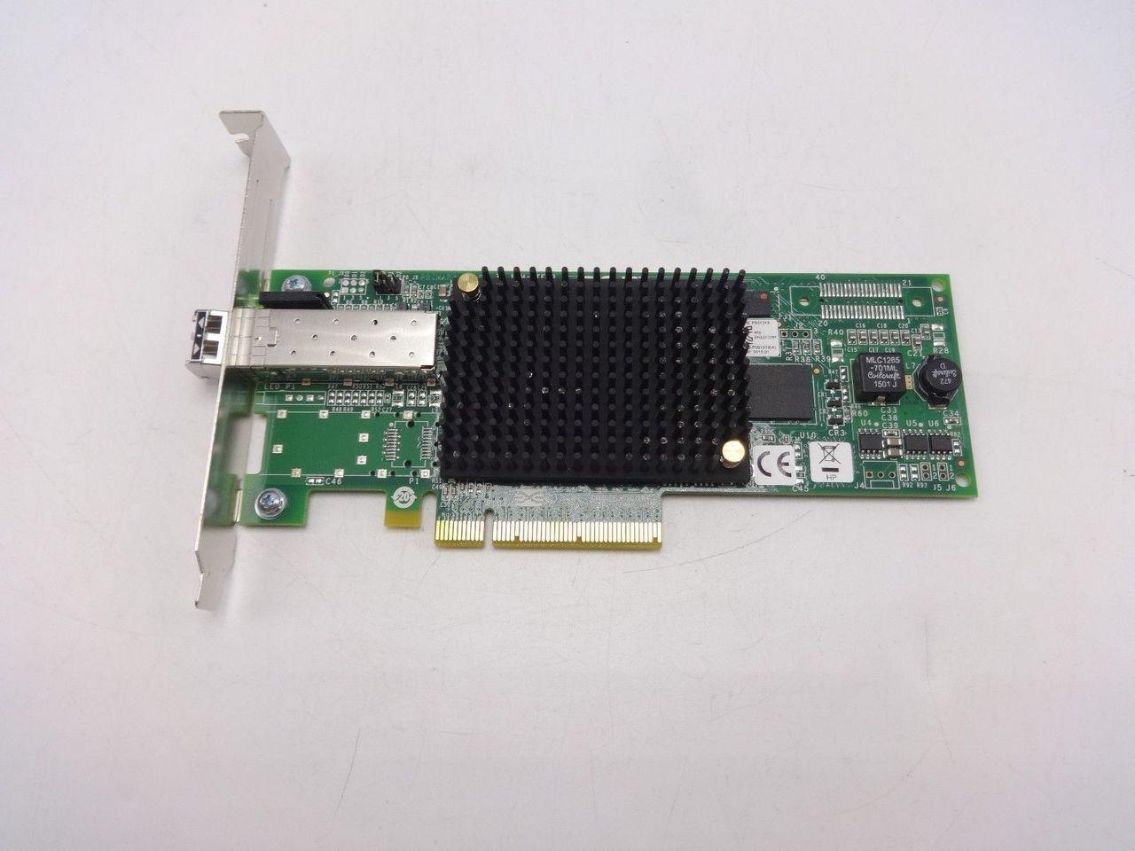 HP 697889-001 81E 8GB SP PCIE FC HBA LPE12000 AJ762-63003