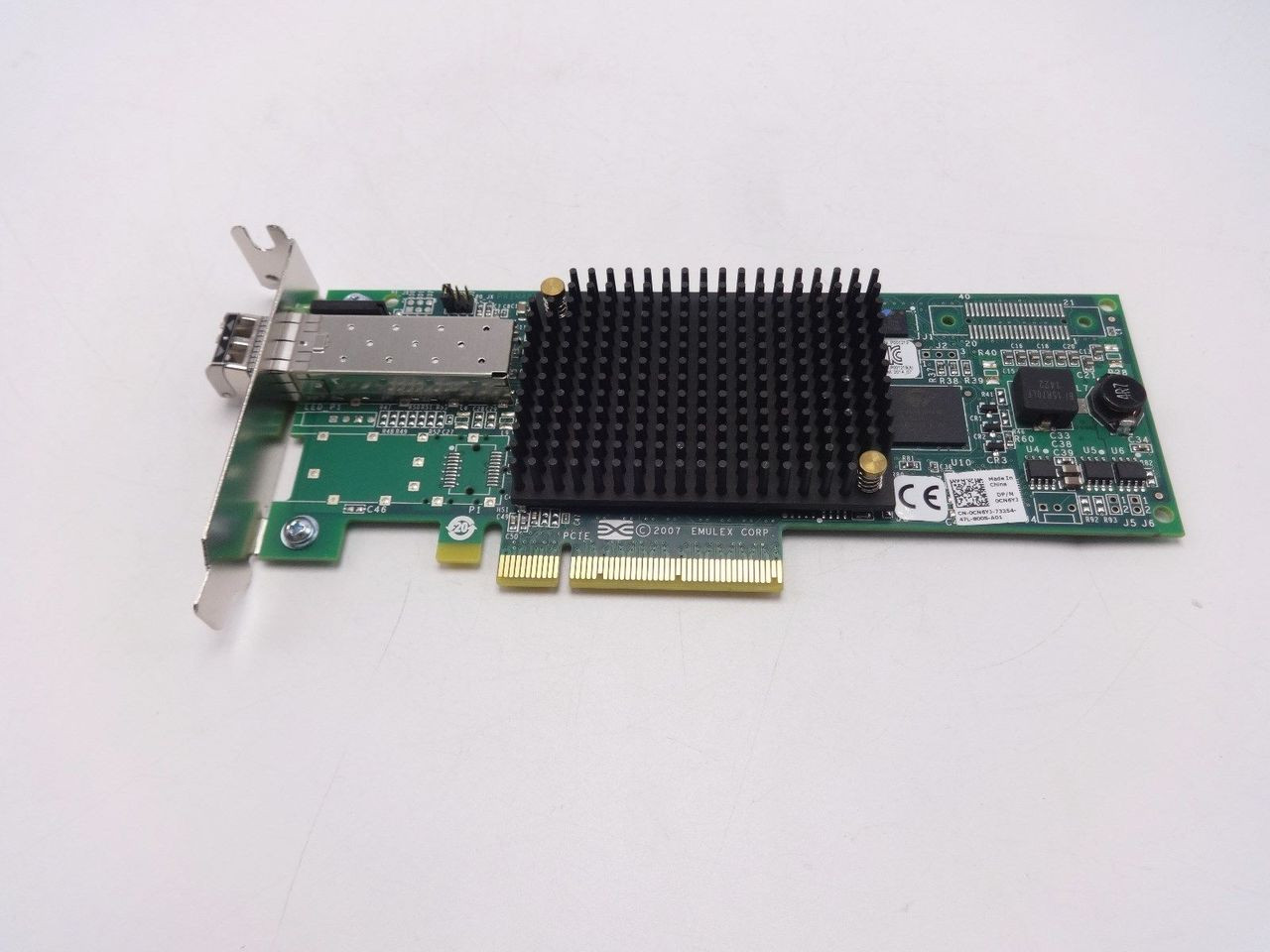 Dell CN6YJ Emulex LPE12000-E 8GBPS PCI-E single port fibre channel card