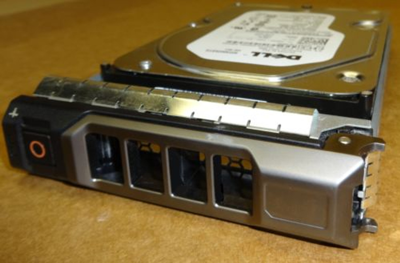 Dell MM407 400GB SAS 10K 3.5 Hard drive with tray