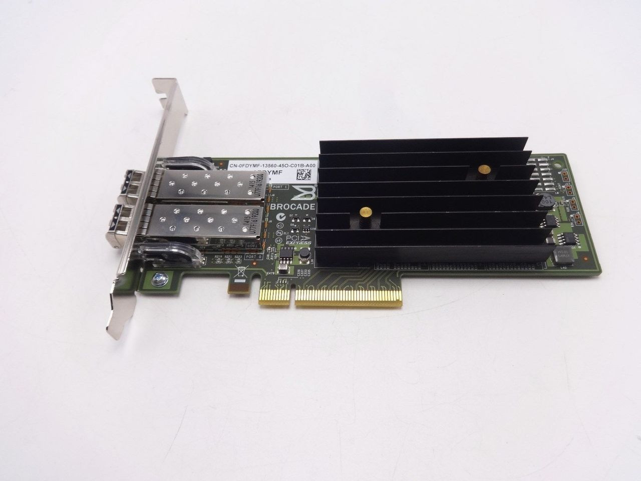 Dell FDYMF brocade 1020 10GB dual port converged network adapter