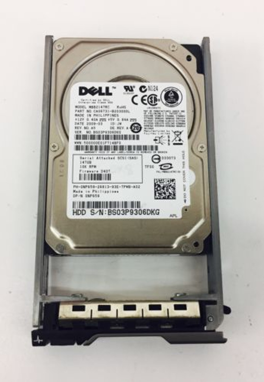 DELL NP659 146GB 10K SAS 2.5