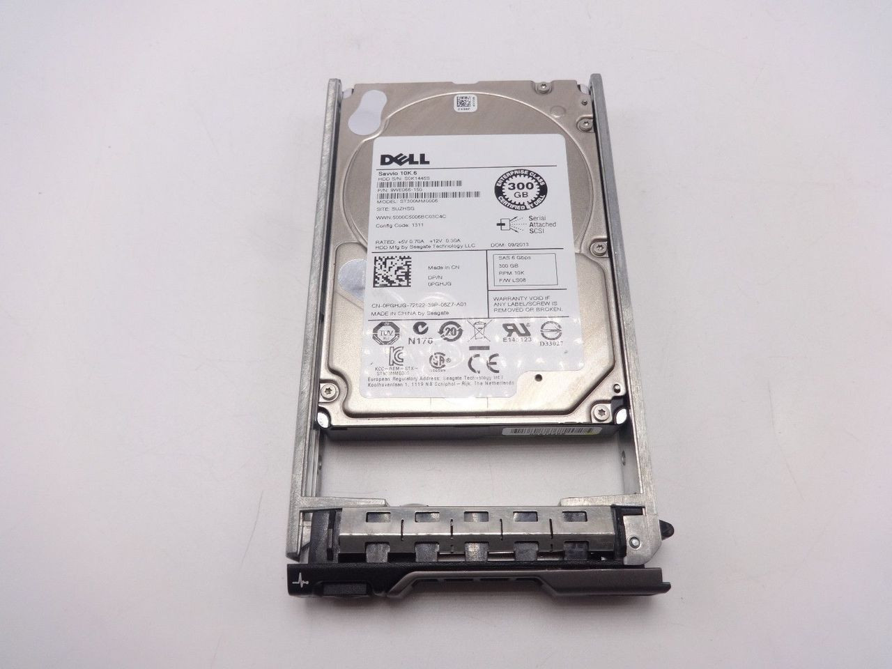 DELL PGHJG 300GB SAS 10K 2.5 6GBPS 9WE066-150 ST300MM0006