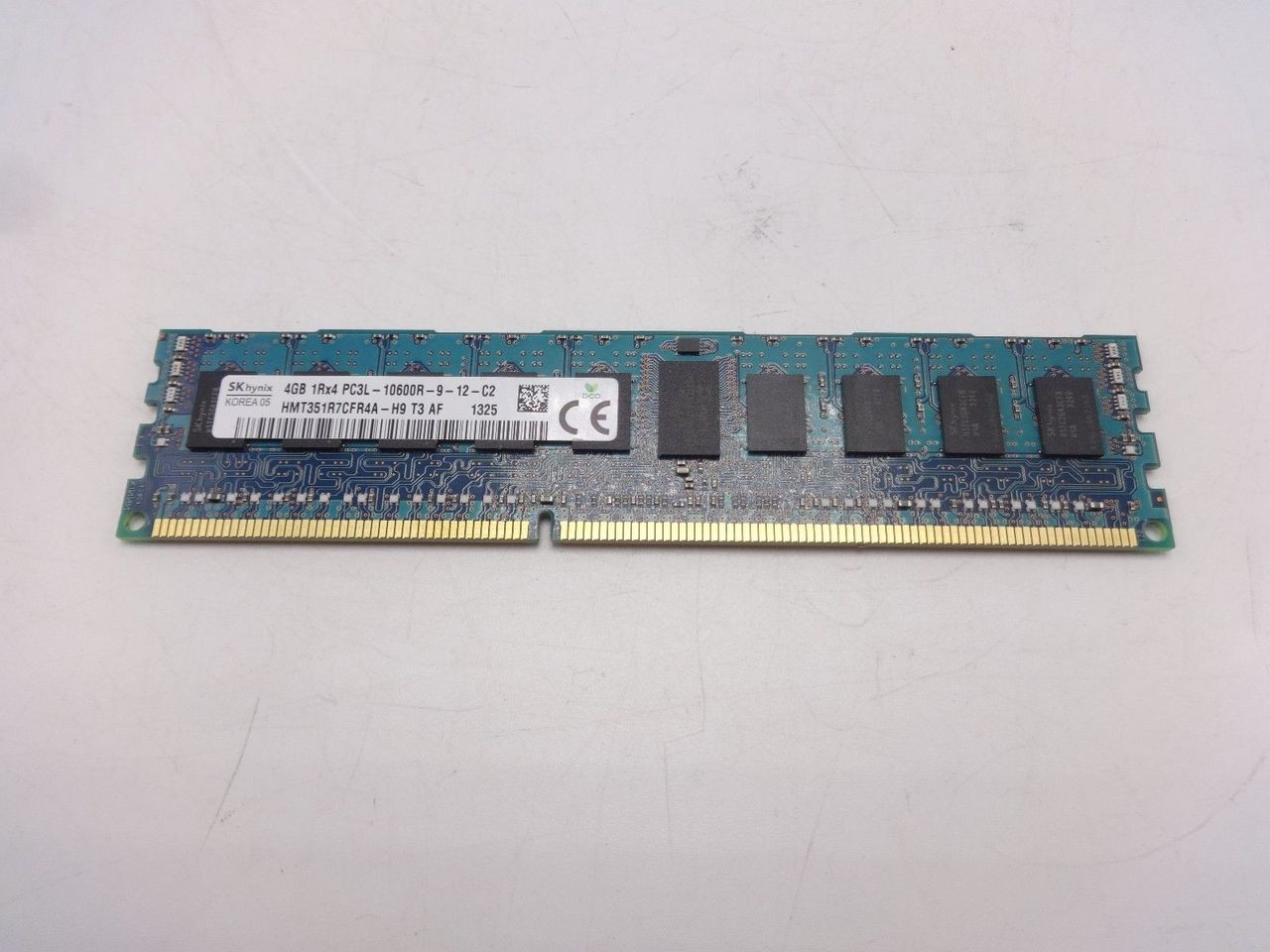 Hynix HMT351R7CFR4A-H9 4GB PC3L 10600R 1RX4 memory dimm ***Server memory only***