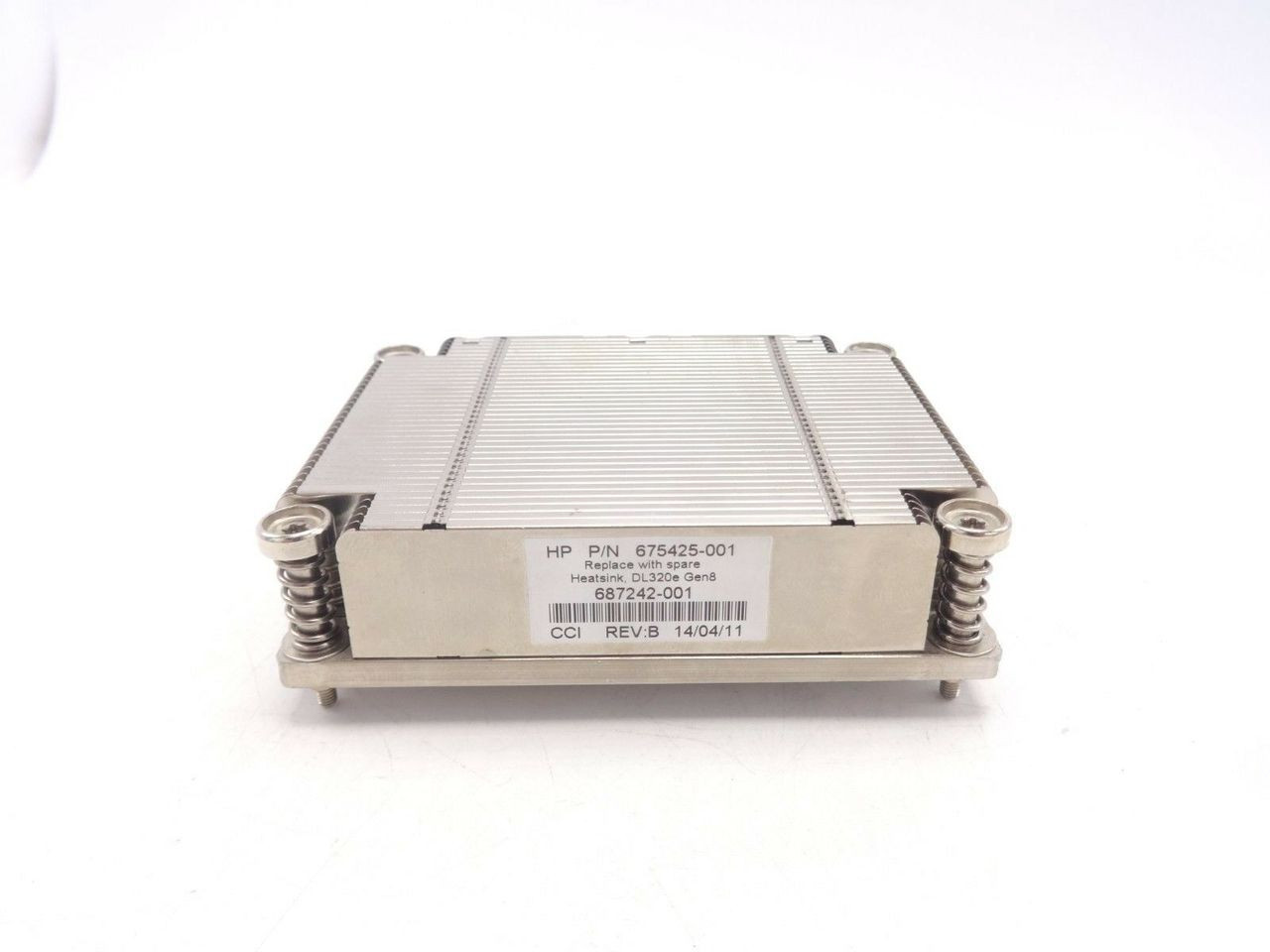 HP 687242-001 DL320 G8 Heatsink 675425-001