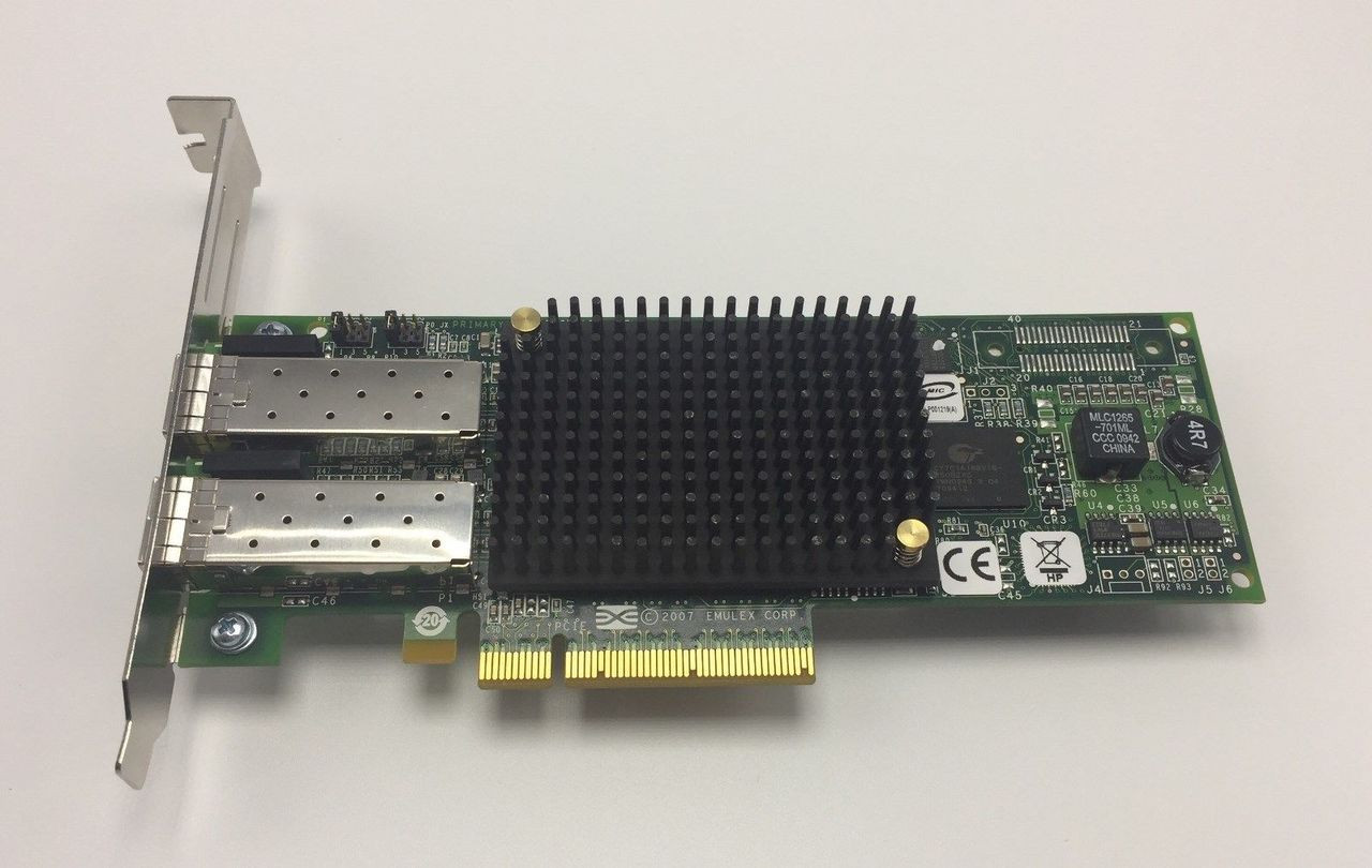 HP 489193-001 82E 8GB dual port PCIe FC adapter