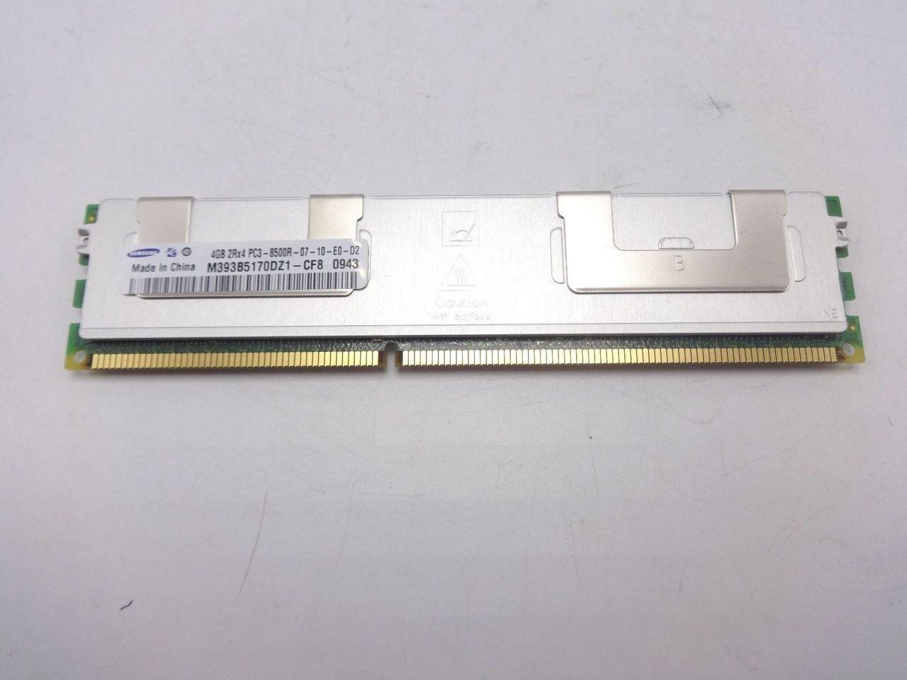 Samsung M393B5170DZ1-CF8 4GB PC3 8500R DDR3 Memory DIMM ***Server memory***