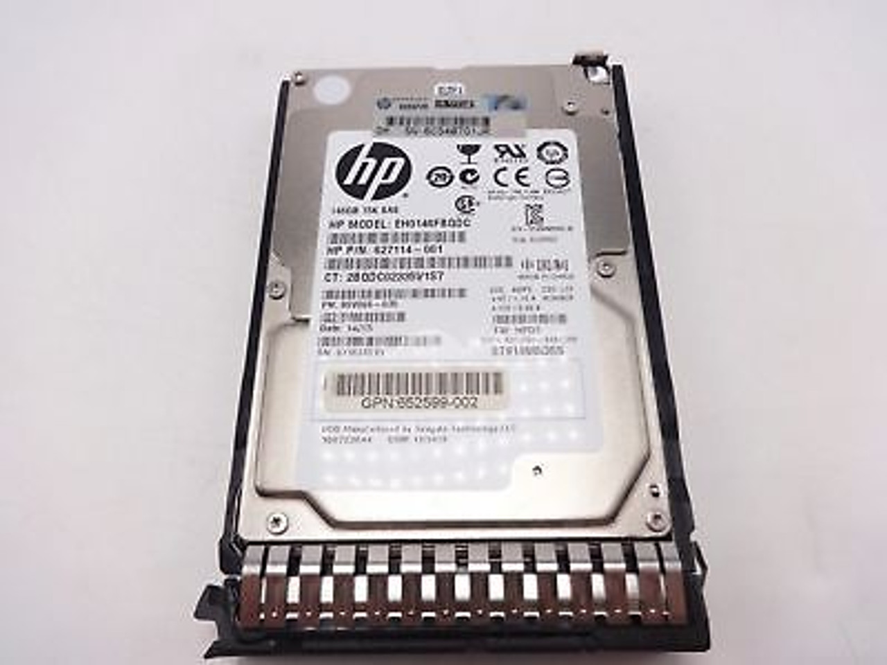 HP Proliant BL420C G8 146GB 6G 15K 2.5 Hard Drive